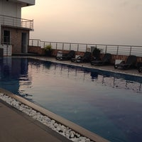 Photo taken at Pearl Grand Hotel pool by Mustho on 4/14/2014