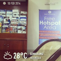 Photo taken at Bank Indonesia by Ken P. on 2/10/2014