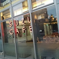 Photo taken at SUZU CAFE 広島上八丁堀 by Nobu h. on 6/8/2014