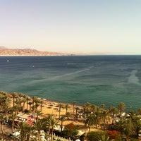 Photo taken at Royal Beach Eilat by Ram C. on 5/17/2013