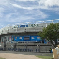 Photo taken at Rod Laver Arena by Elaena L. on 1/10/2013