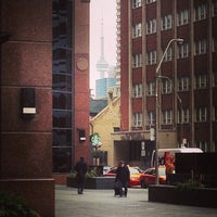 Photo taken at Church St & Bloor by Rannie T. on 12/9/2014