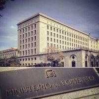 Foto tomada en Ministerio de Fomento por Nacho T. el 12/16/2015