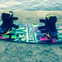 Photo taken at Wake & Roll Park by Kacper W. on 6/9/2014