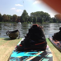Photo taken at Wake & Roll Park by Kacper W. on 8/9/2014
