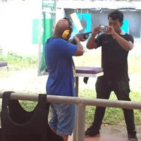 Photo taken at Patong Shooting Range by To00ola A. on 2/18/2017