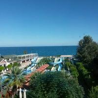 Photo taken at Lims Bona Dea Beach Hotel by Felicia T. on 10/20/2014
