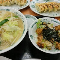 Photo taken at 日高屋 小岩北口店 by ゆうにょ on 8/28/2016