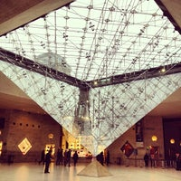 Photo taken at Carrousel du Louvre by Marc A. on 11/29/2012