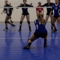 Photo taken at Great Lakes Volleyball Center by Heidi H. on 1/6/2013