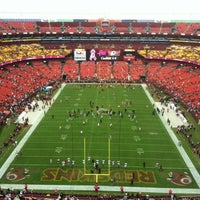 Photo taken at FedEx Field by Annie W. on 10/7/2012