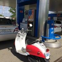 Photo taken at Газпромнефть АЗС № 310 by Vova S. on 5/29/2014