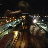 Photo taken at Metrolink Riverside-Downtown Station by Sher C. on 2/18/2013