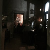 "Photo taken at Central European Bistro Bar ""Trójkąt"" by Krzysztof W. on 11/27/2015"