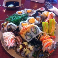Photo taken at Kumo Japanese Seafood Buffet by Aaron S. on 1/8/2013
