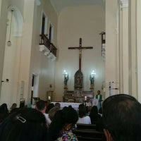 Photo taken at Catedral São João Batista by Carlos Alberto C. on 6/15/2016