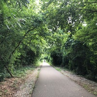Photo taken at Shelby Farms Greenline by Dana D. on 7/4/2018