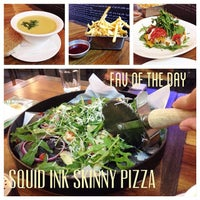 Photo taken at Skinny Pizza by Alamanda L. on 4/14/2014