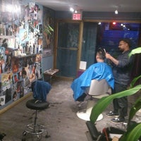 Photo taken at Modern Lovers Hair Shop by Ella E. on 1/1/2014