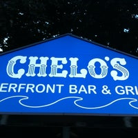 Photo taken at Chelos Waterfront Bar & Grille by David E. on 8/21/2013