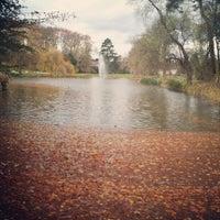 Photo taken at Parc de l'Orangerie by Claire S. on 11/25/2012