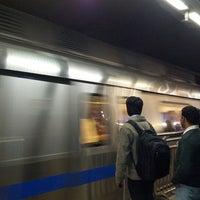 Photo taken at Rajiv Chowk | राजीव चौक Metro Station by Vishakh on 12/27/2012