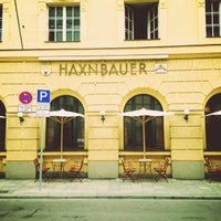 Photo taken at Haxnbauer by 🅰ndrey S. on 5/17/2013