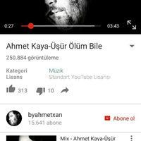 Photo taken at yamaçtepe by Ahmet Ö. on 10/26/2015