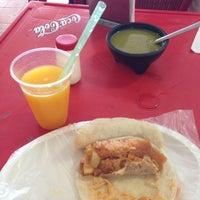 Photo taken at Tacos El Güero Comida Corrida y Cenaduria by Txus d. on 3/23/2013