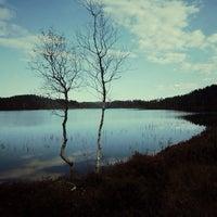 Photo taken at kleivevannet by Ragnhild A. on 10/18/2014