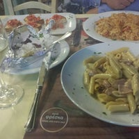 Photo taken at Al Dente by Katerina M. on 8/19/2014