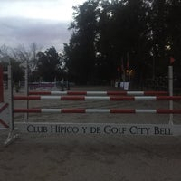 Photo taken at Club Hipico y de Golf City Bell by Claudio R. on 5/25/2016