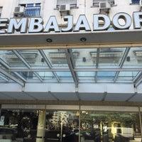 Photo taken at Embajador Hotel by Claudio R. on 5/11/2016