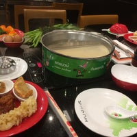 Photo taken at Hot Pot Inter Buffet by Ratchadaporn K. on 8/19/2016