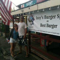 Photo taken at Izzy's Burger Spa by Robert L. on 8/7/2013
