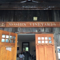Photo taken at Moshin Winery by Robert L. on 3/19/2017
