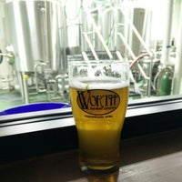 Photo taken at Worth Brewing Company by Carl K. on 7/3/2016