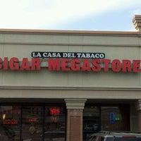 Photo taken at La Casa Del Tabaco Cigar Lounge by Daniel (Sikora) B. on 4/9/2013