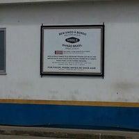 Photo taken at Paragon Offshore (Novo Cavaleiros base) by Luís Felipe S. on 1/18/2013