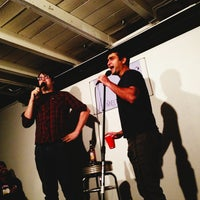 Photo taken at The Nerdist Theatre at Meltdown Comics by Lionel C. on 2/7/2013