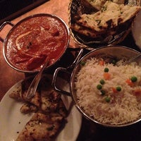 Photo taken at Brick Lane Curry House by Lionel C. on 4/29/2014
