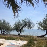 Photo taken at Sarıkız Sahil Plajı by Berna A. on 5/6/2015
