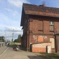 Photo taken at Bahnhof Breddin by Frederik B. on 8/9/2014