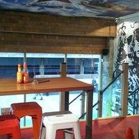 Photo taken at Zapatista Burrito Bar by Irina S. on 9/27/2014