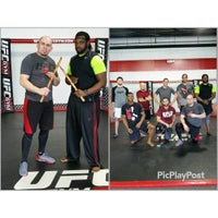 Photo taken at UFC GYM by Andre T. on 2/13/2016