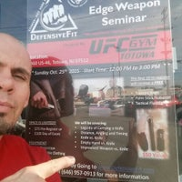 Photo taken at UFC GYM by Andre T. on 10/20/2015