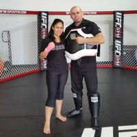 Photo taken at UFC GYM by Andre T. on 9/16/2016
