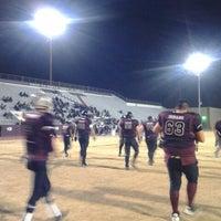 Photo taken at Hutchins Stadium Ysleta by Alice🌺 F. on 1/20/2013