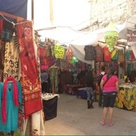 Photo taken at Mercado de Los Hippies Quetzalcoatl by Cassandra R. on 10/16/2014