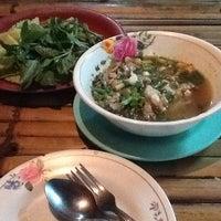Photo taken at ร้านอาหารอีสานหลังจวน by บุญมา ก. on 6/28/2013